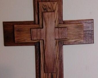 hand made wooden cross