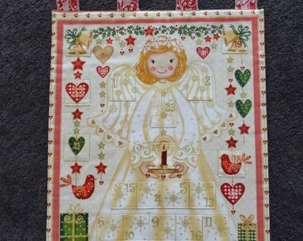 Golden Angel Children's Advent Calendar