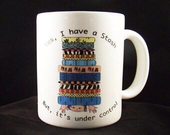 Fabric Stash Mug