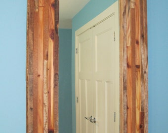 All Reclaimed Wood Mirror