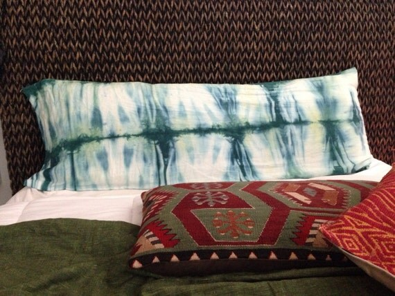 Body Pillow Custom Requests Tie Dye Shibori By Theindigotribe