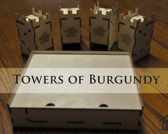 The Towers of Burgundy  compatible with Castles of Burgundy™