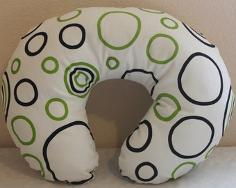 Boppy Pillow Slipcover, Nursing Pillow cover, Boppy Pillow cover, Breastfeeding Pillow cover.
