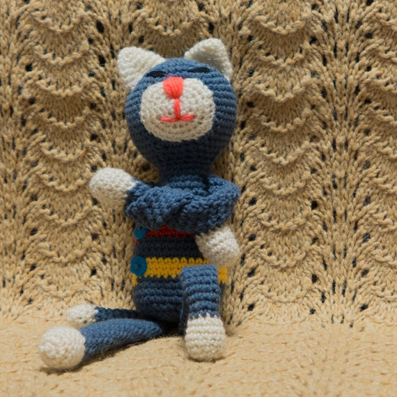 Amigurumi Cat Amineko : Cat-amineko. Crochet amigurumi handmade toy by ...