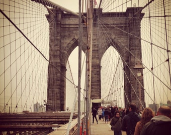 Photograph of Brooklyn Bridge
