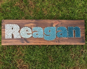MADE TO ORDER First Name String Art Board