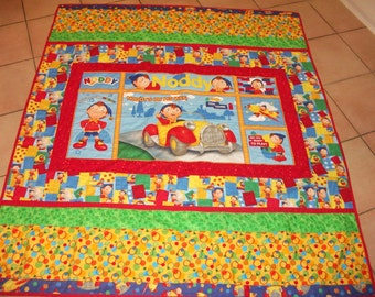 Handmade/child/ single bed quilt/100% cotton/multi colored