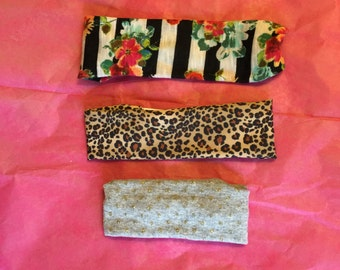 baby, child, and adult sized headbands
