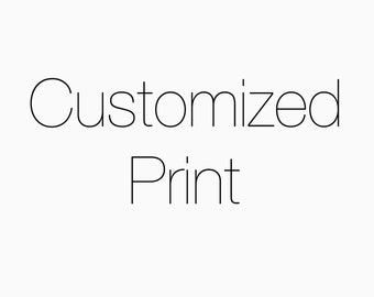 Customized Print