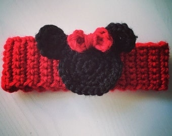 Newborn Minnie Mouse head band