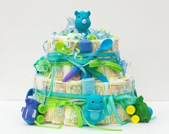 regular boy diaper cake