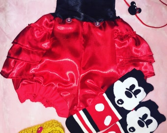 Mickey Mouse inspired romper