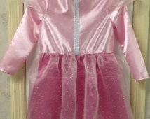 Skye Paw Patrol costume, Size 4-5 girls, hand made, halloween costume, dress up for little girls, pink dress, little princess outfit