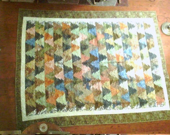 Fall Trees Quilt