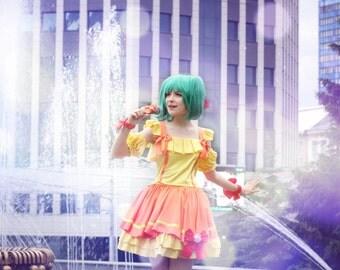 Ranka Lee cosplay costume anime Macross Frontier Clothing Party Halloween