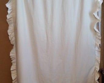 Ruffle Curtain (blackout)