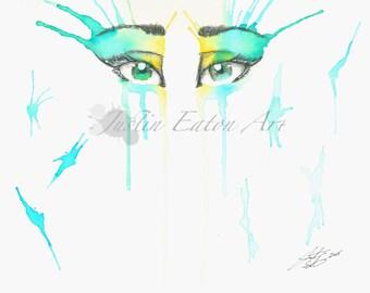 Summer Eyes Deluxe Print
