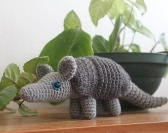 Armadillo Amigurumi Crochet Plush