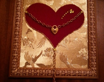Panno handmade . The key to my heart