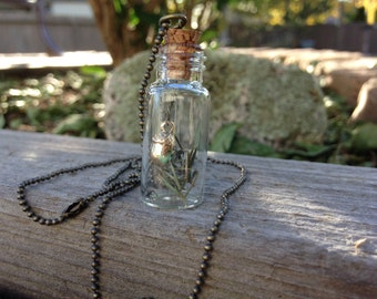 Autumn in a bottle pendant