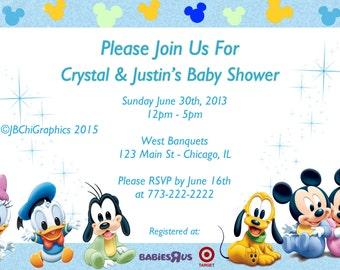 Disney Baby Shower Invitations – gangcraft.net