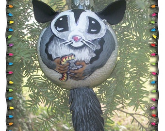 Sugar Glider Christmas Ornament