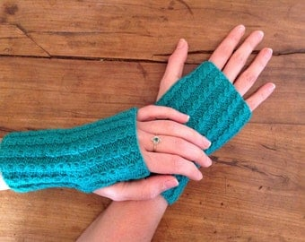Japanese blue mittens