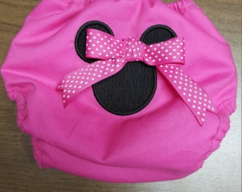 Minnie Mouse Diaper Cover