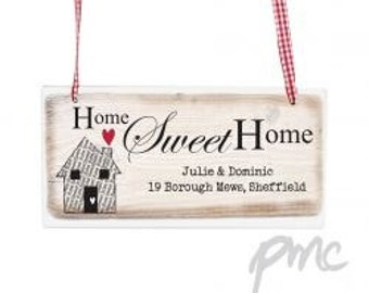 Personalised Rustic Wooden Sign