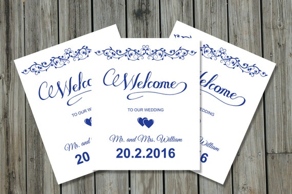 Wedding Gift Bag Tags Template : Wedding Welcome Basket Tag Wedding Favor tag Template wedding bag ...