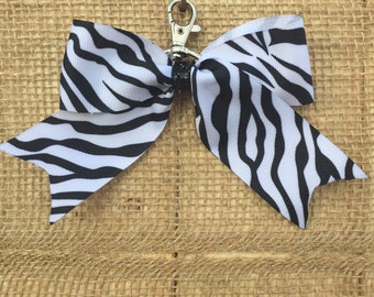 Zebra back-pack bow