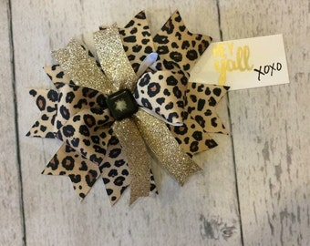 Leopard Bow (One Available)