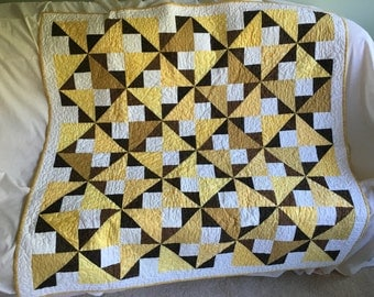 """Lap Quilt (50""""x50"""") Professionally Quilted"""