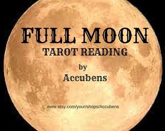 Full Moon Psychic Tarot Reading