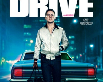 Drive Large A1 Movie Poster