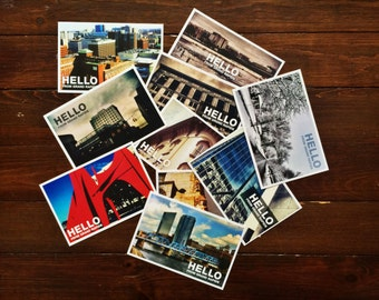 Hello From Grand Rapids Michigan 1st Edition Postcards