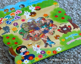 Fairy Tale Forest Sticker Flake Pack 71 Stickers