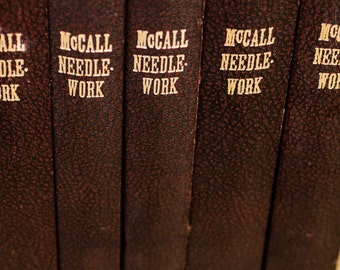 Amazing Archive of McCall's Needlework and Crafts Magazines 1946-1959