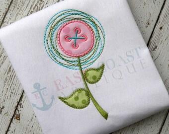 Spring Flower Shirt/ Girls Flower Shirt/ Flower Button Shirt