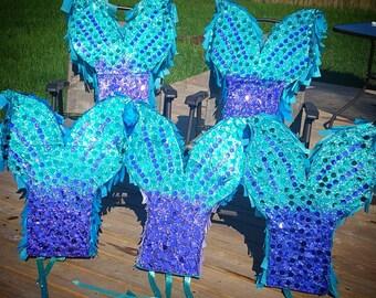 Mermaid pinata,  glitter pinata, custom glitter pinata