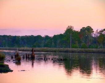 Sundown in Bayboro