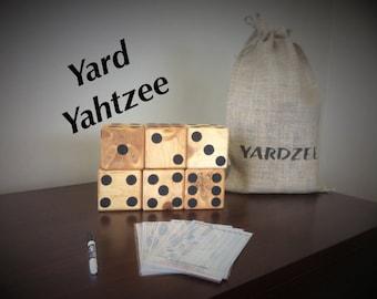 Lawn Dice, set of 6 ~Yardzee~Farkle