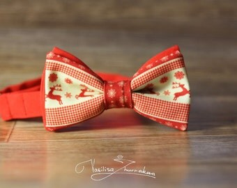 deer bow tie - bowtie
