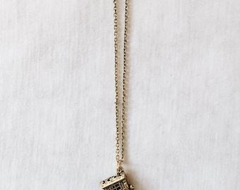 Antique Gypsy Wagon Necklace