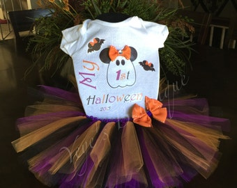 My First Halloween Minnie Mouse Theme