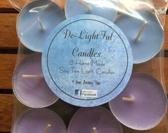 Soy Tea Light Candles