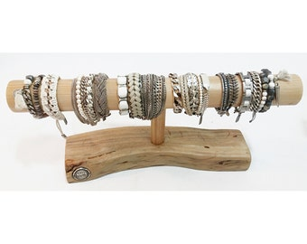 Solid Wood Bracelet Display Stand Jewelry Display Bracelet Stand  Holder  - EXPRESS SHIPPING