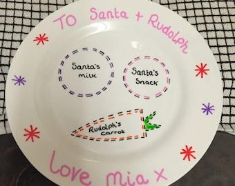 Christmas Eve plates