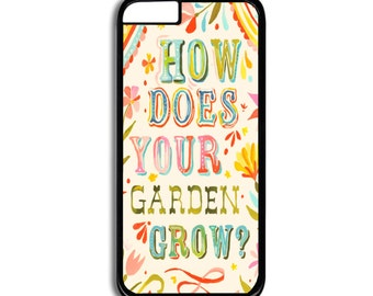 How does your garden grow iPhone case- Cell Phone Accessories
