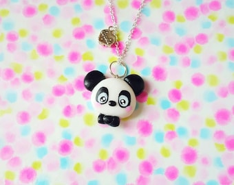 "Necklace "" Panda cookie """